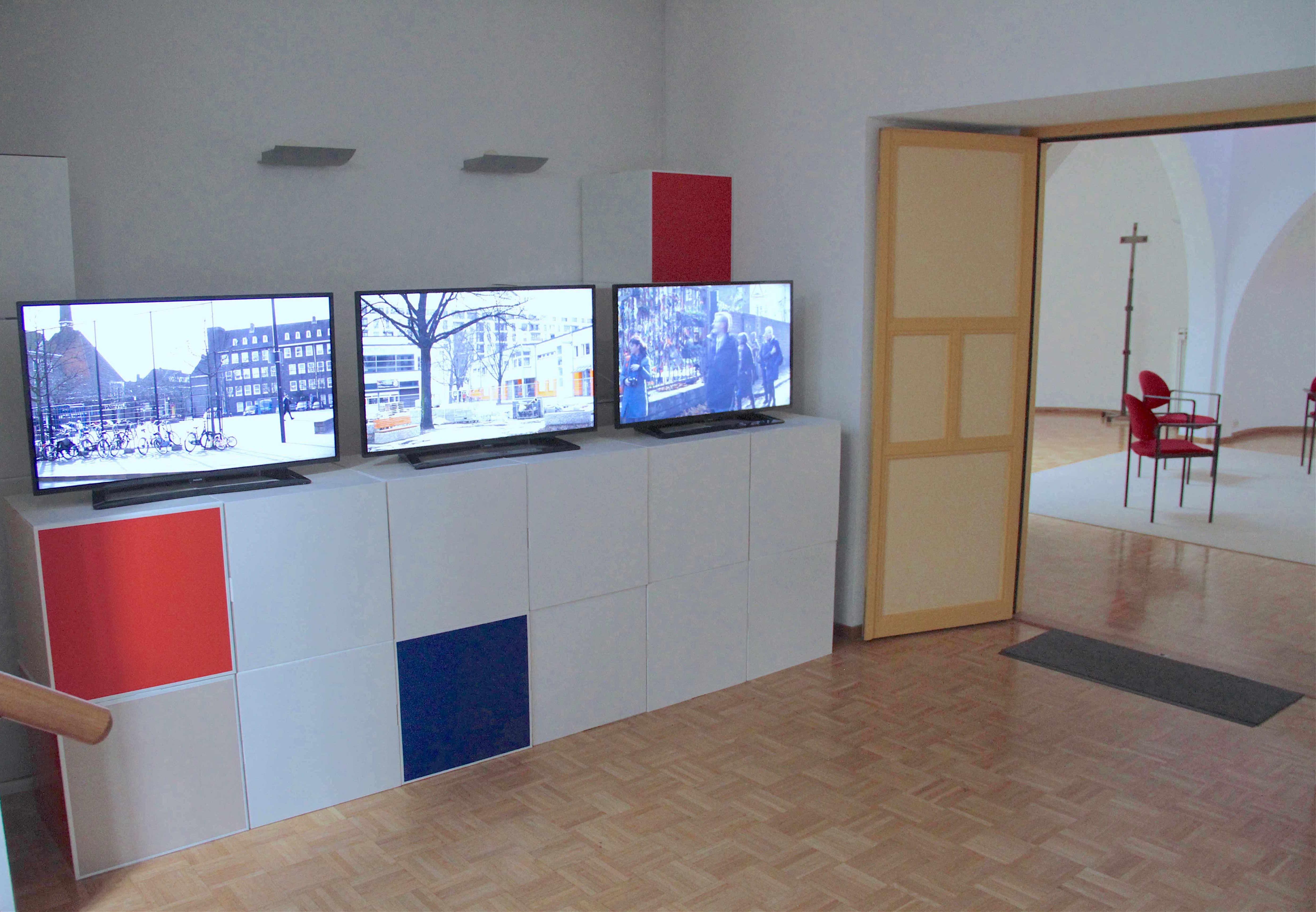 Exhibition Amsterdam | Installation Gschlößl